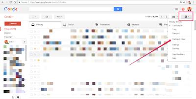 configure gmail inbox tabs