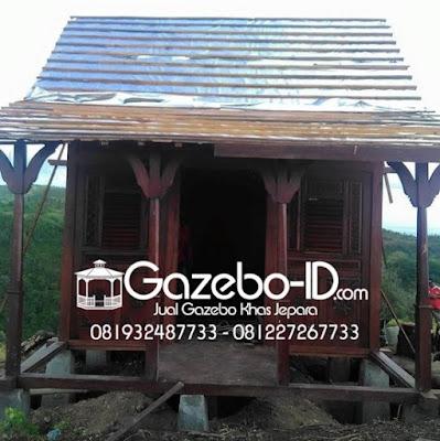 Gazebo Rumah Ukir Jawa Jati Jepara - Atap