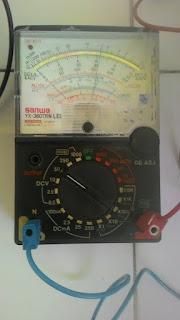 Multitester analog