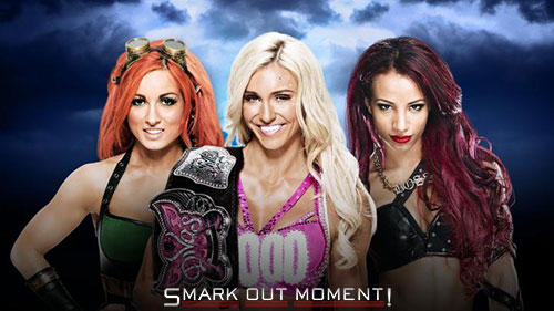 WWE WrestleMania 32 Charlotte vs Sasha Banks vs Becky Lynch