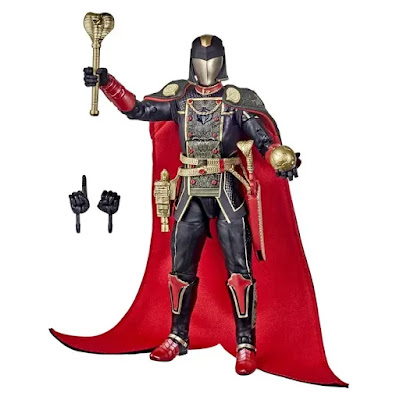 San Diego Comic-Con 2020 Exclusive G.I. Joe Classified Series Snake Supreme Cobra Commander Action Figure by Hasbro Pulse