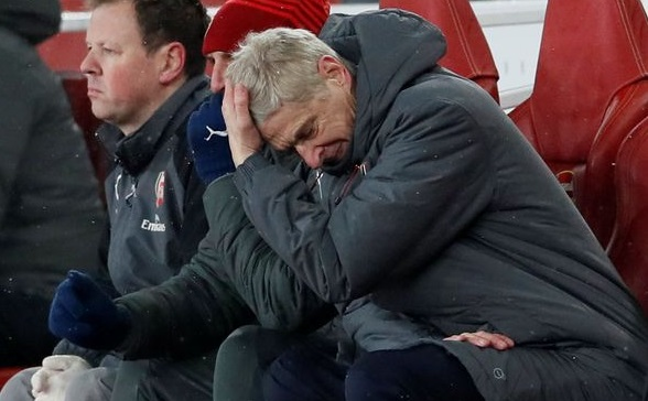 EPL: Wenger reveals how his successor would feel after Arsenal lost to Man United