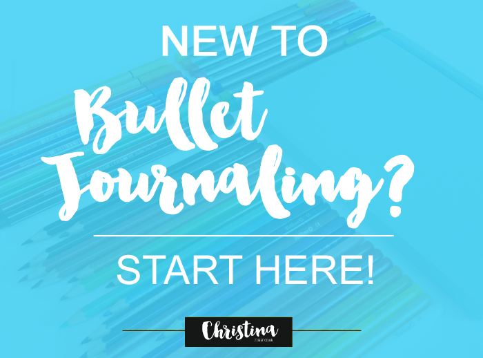 Are you a Bullet Journal Newbie? Then this is the page for you! All the information you might need to start a bullet journal in one place. - www.christina77star.co.uk