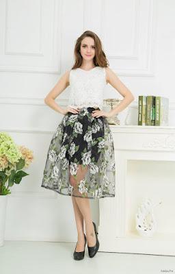 Faldas Transparentes