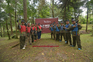Jungle Paintball di Kaliurang