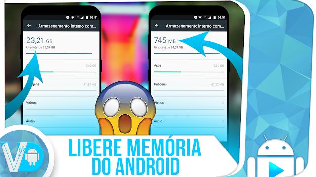 SUPREMO! 🚀 Libere MUITA MEMÓRIA INTERNA do Android #SEM #ROOT