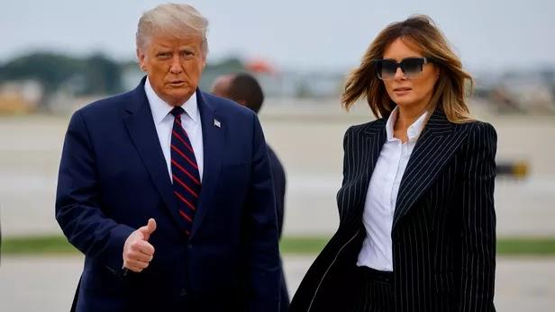Etats-unis : Donald et Melania Trump positif au Covid-19
