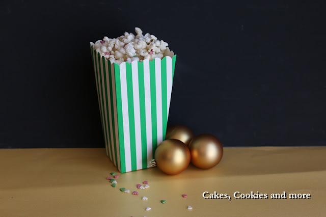 Weihnachtliches Popcorn