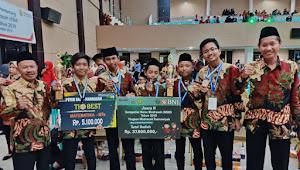 Siswa Abadiyah Gabus Juara 1 Lomba Sains Nasional