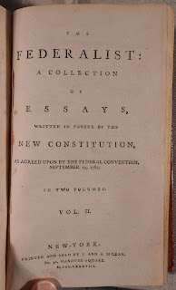 Title page to Volume 2 of The Federalist.