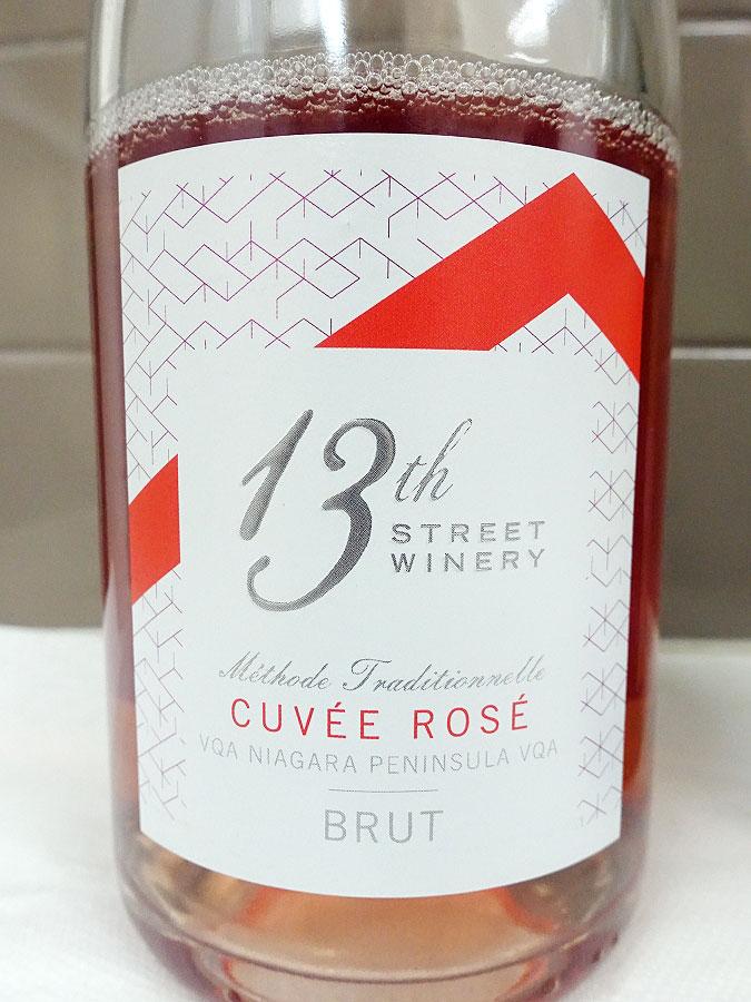 13th Street Cuvée Brut Rosé (90+ pts)