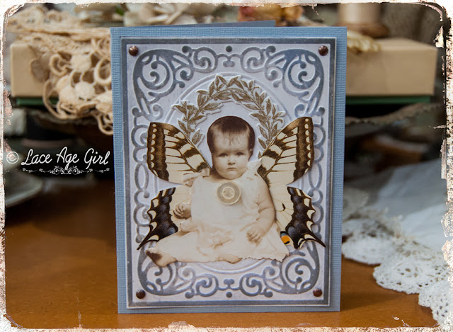 Baby card by Jesse Rowan