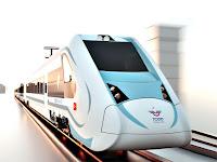 Elektrik ile çalışan ve Türkiye de üretilecek olan milli tren modeli