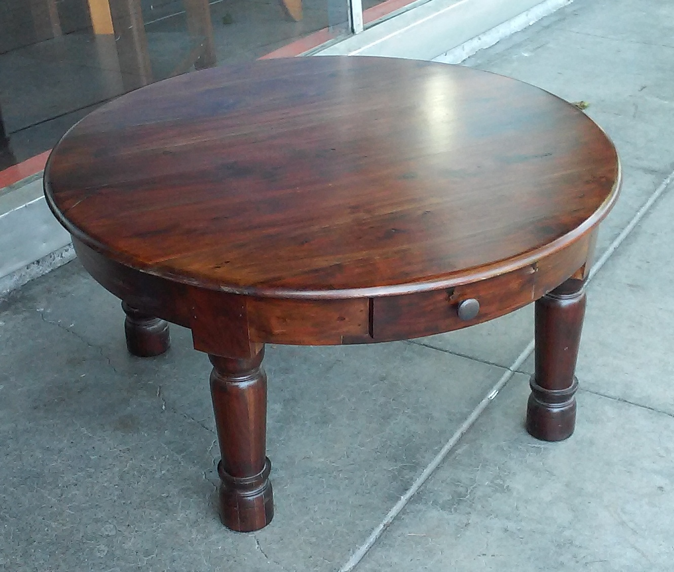 Teak Coffee Table South Africa: UHURU FURNITURE & COLLECTIBLES: SOLD