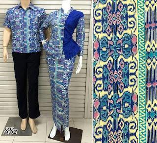 model setelan baju batik guru