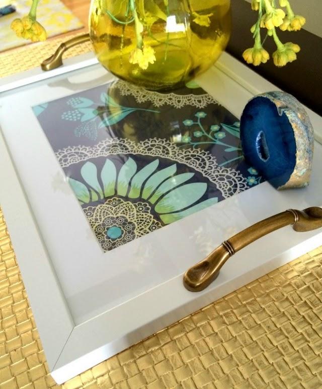 DIY Διακοσμητικοί Δίσκοι από Κορνίζες