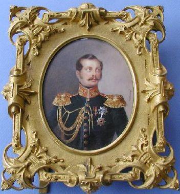 2 - European Miniature Portraits: Winberg, Ivan - portrait