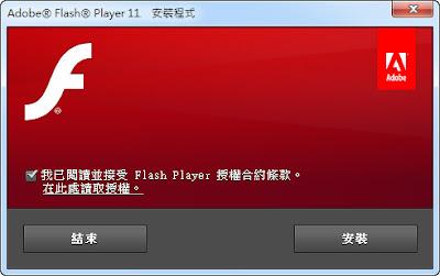 電腦必備網頁瀏覽器附加元件,Adobe Flash Player 多國語言版!