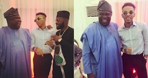 Falz and Tekno spotted with Lagos State Governor Ambode at an event (Photos)