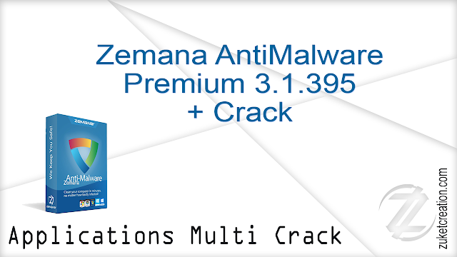 Zemana AntiMalware Premium 3.1.395 + Crack