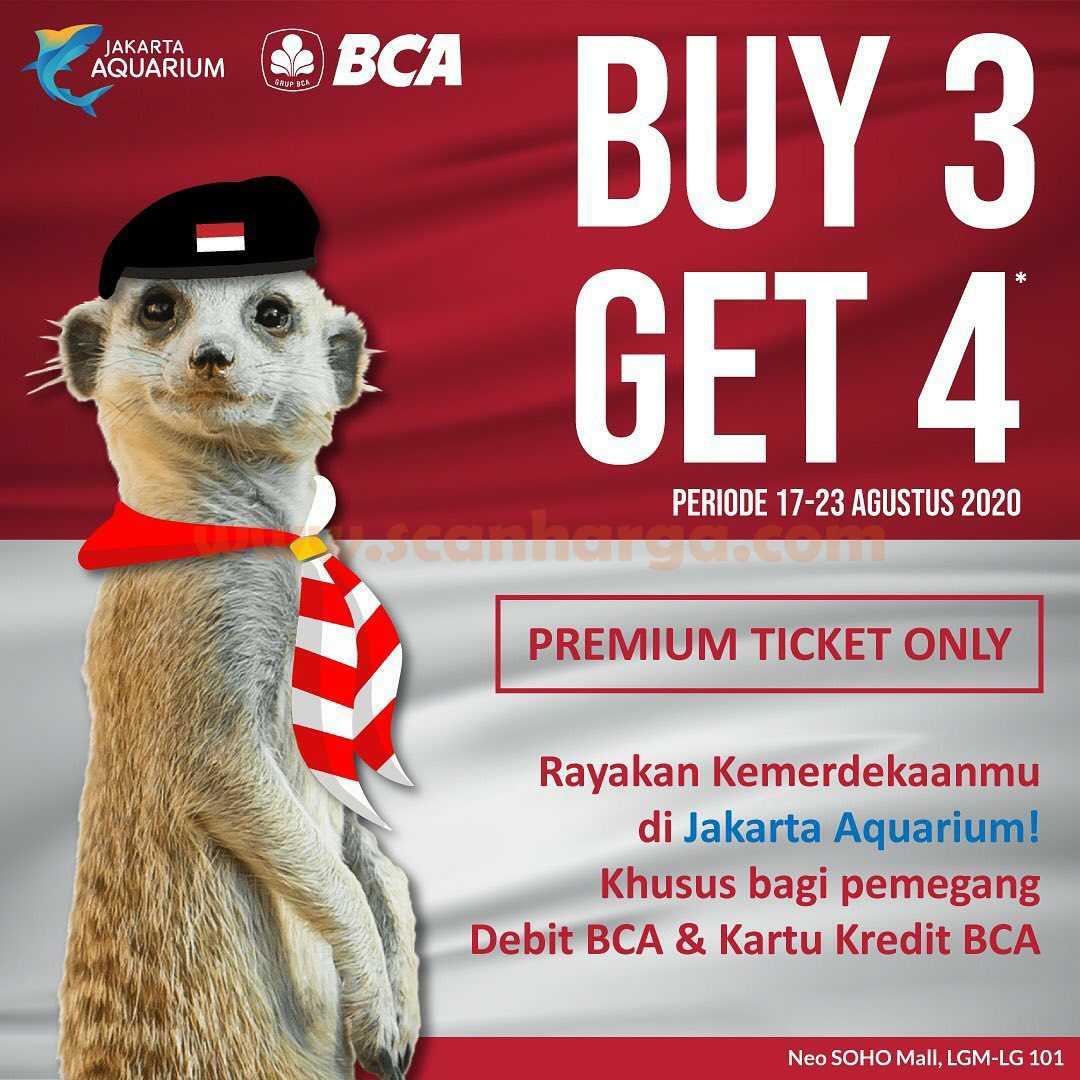 Jakarta Aquarium Promo BCA