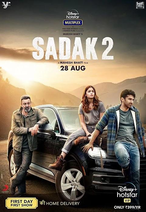 Sadak 2 (2020) Hindi 400MB | 900MB | 2.6GB HDRip ESubs Download