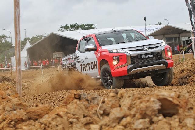 test drive new triton