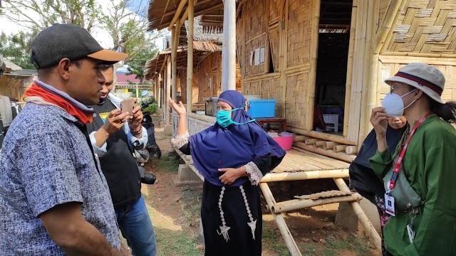 Sempat Diusir dari Huntara, Anggota DPRD Palu Temui Penyintas