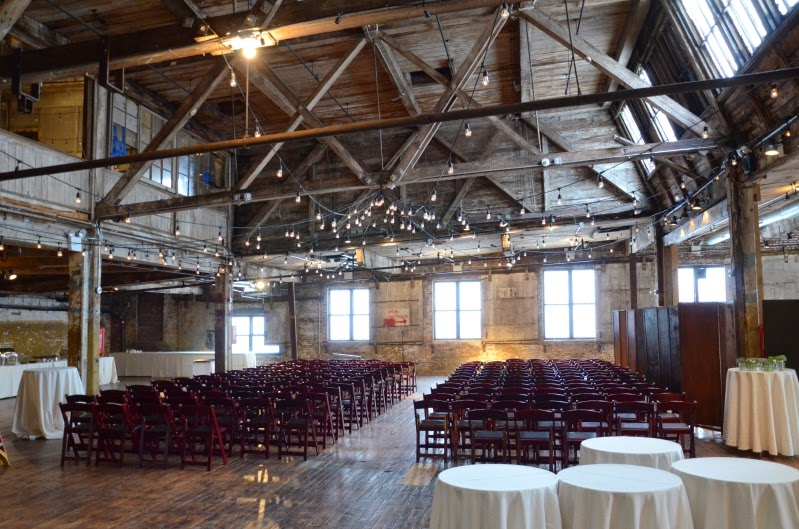 The Greenpoint Loft Wedding Lighting String Lights Saay February 21 2017