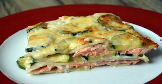 Healthy Recipe: Delicious Lasagna With Salmon And Zucchini