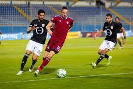 مباراة المصري وبيراميدز الان