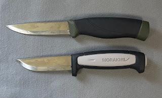 コンパニオン ヘビーデューティー MGとロバストのグリップ形状