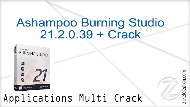 Ashampoo Burning Studio 19.0.2.7 + Crack