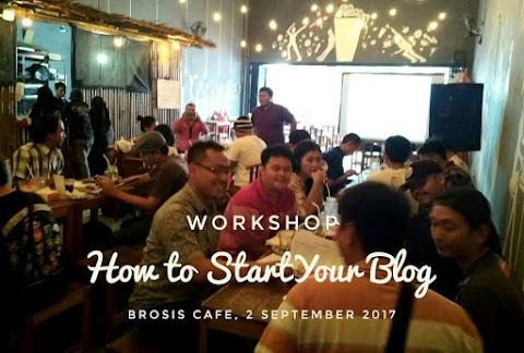 Kumpul Bareng Blogger Pemalang di Kafe Brosis