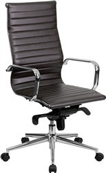 Ribbed Back Conference Chair