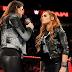 Becky Lynch vs. Stephanie McMahon sendo discutido pela WWE