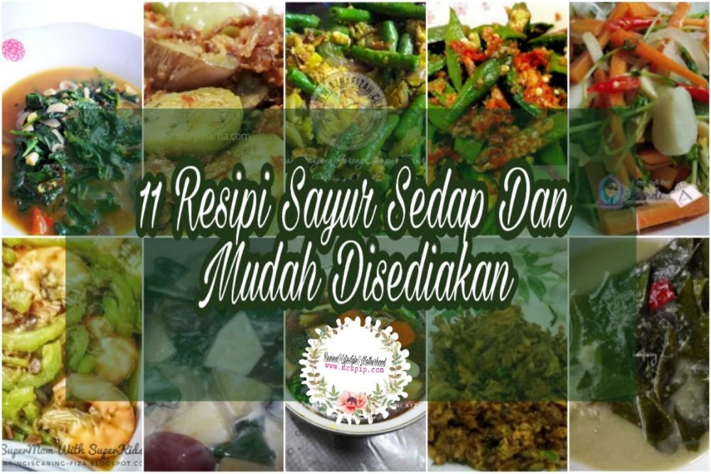 11 resipi sayur sedap