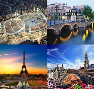 Paket Umrah Plus Eropa