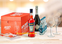 "Concorso ""Aperol Together We Can Cook"" : per i primi 1.000 partecipanti il Kit Aperol Spritz !"