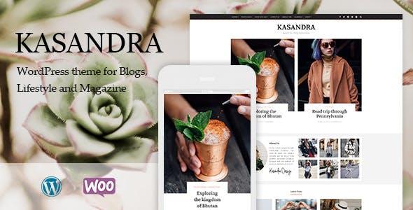 Kasandra v1.0.0 - Một chủ đề blog và cửa hàng