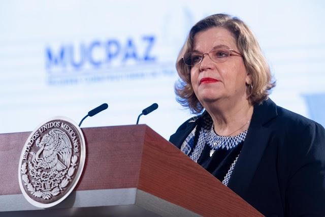 Nadine Gasman, directora de Inmujeres