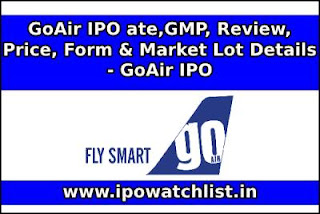 GoAir IPO Detail