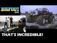 """BIGFOOT on """"THAT'S INCREDIBLE!"""" USA-1 IN 1983! FULL FEATURE AND RACE!"""