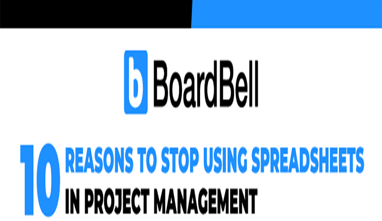 Reasons to Stop Using Spreadsheets in Project Management #infographic