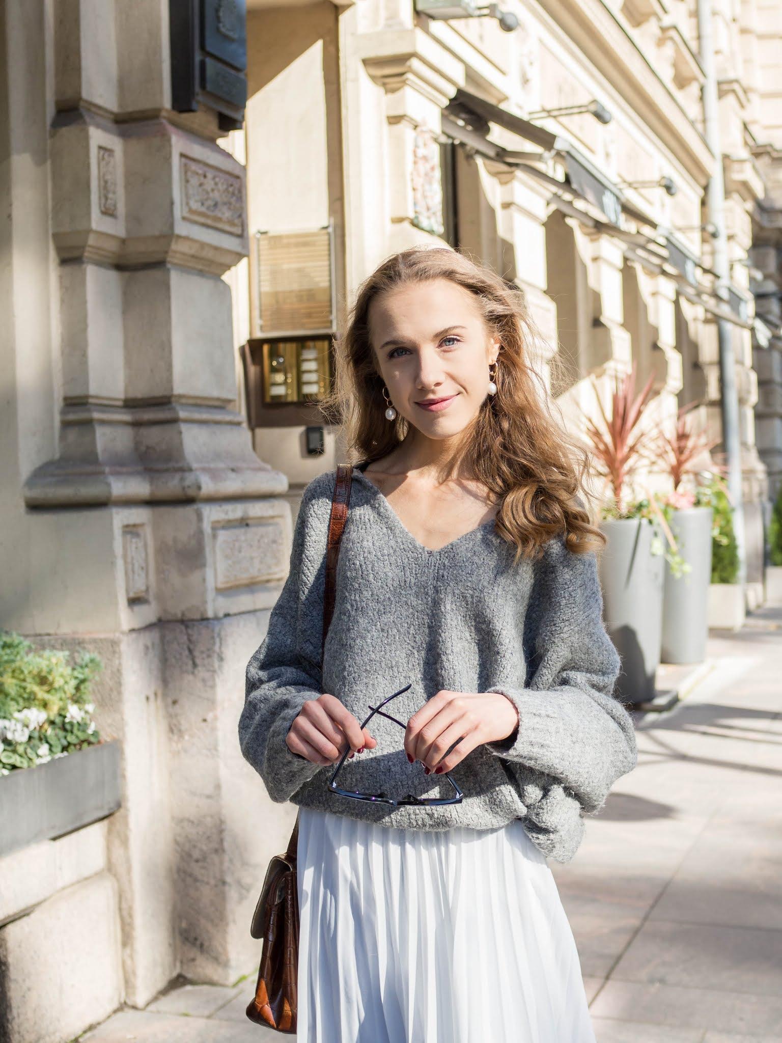 Pariisi-tyylinen asu // Parisian style outfit