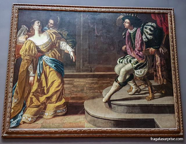 "Nova York - Museu Metropolitan - ""Esther Diante de Assuero"", de Artemisia Gentileschi"