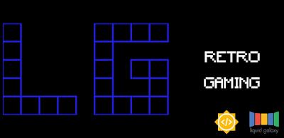 App details page: Liquid Galaxy Retro Gaming