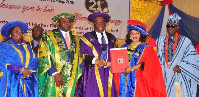 Lagos State University, entertainment news