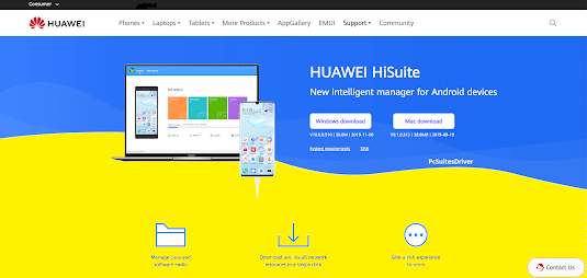 Huawei-PC-Suite-Driver-(HiSuite)-Free-Download-for-Windows