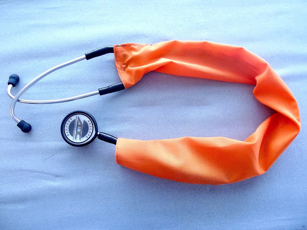 Stethoscope Covers DIY